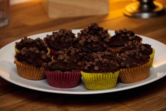 Cupcakes Francine au chocolat