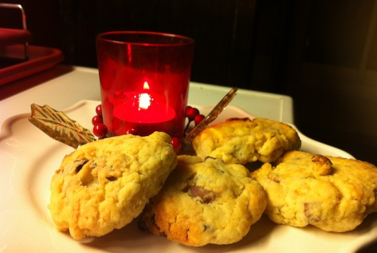 Mes cookies salés prêts à déguster