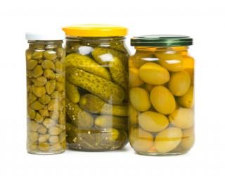 Olives Capres Cornichons