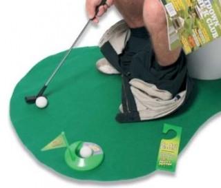 Golf pour toilettes