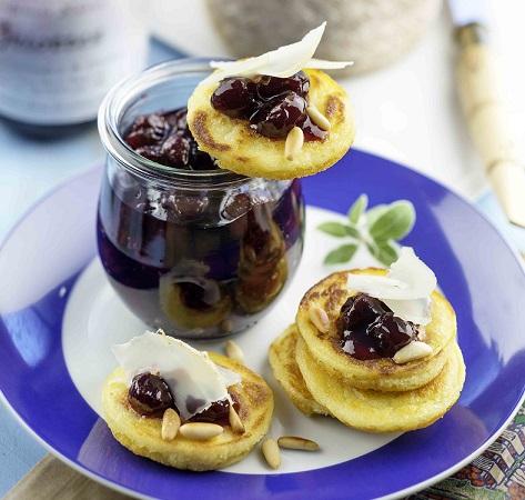 Pancakes brebis griottes