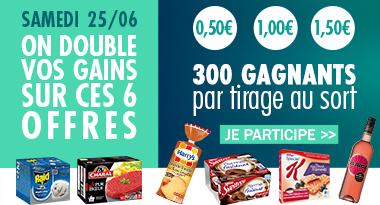Doublement des gains Coupon network