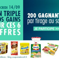 triplement des gains coupon network