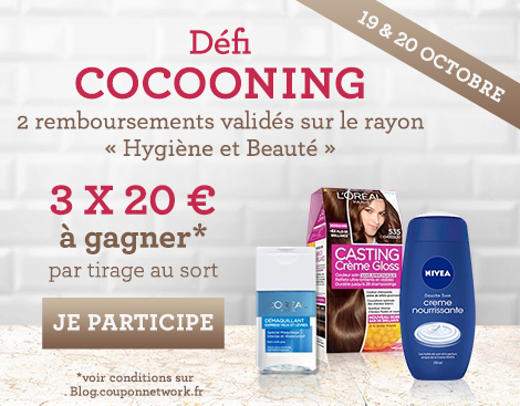 Défi Cocooning Coupon Network