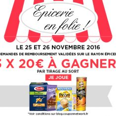 Défi Epicerie Coupon Network