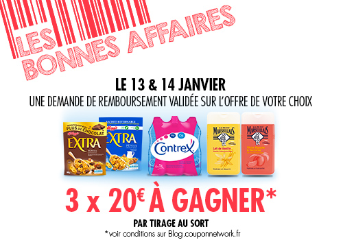 Jeu concours coupon networka